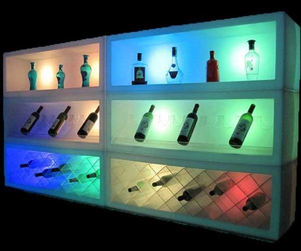 led bar wand regal crush eisbeh lter i event verleih dresden. Black Bedroom Furniture Sets. Home Design Ideas